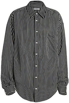 Balenciaga Striped Swing Shirt