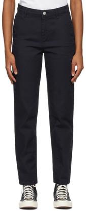 Carhartt Work In Progress Navy Pierce Jeans
