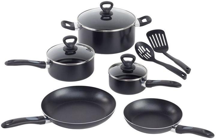T-Fal Comfort Grip 10-Piece Cookware Set