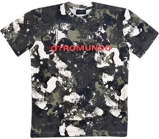 Marcelo Burlon County of Milan Camouflage T-Shirt (4-14 Years)