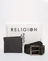 Religion Wallet And Belt Gift Set