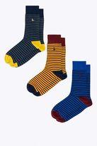 Jack Wills Hoylake 3-Pack Multi Stripe