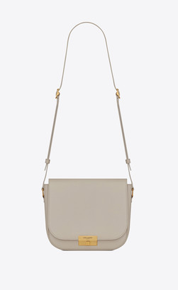 Saint Laurent Betty Betty Satchel In Smooth Leather Blanc Vintage Onesize