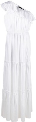FEDERICA TOSI Tiered One-Shoulder Dress