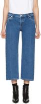 Balenciaga Indigo Rockabilly Jeans