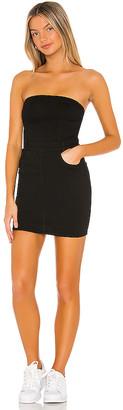 superdown Ally Strapless Denim Dress