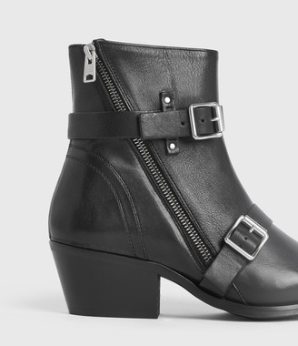 AllSaints Lior Leather Boots