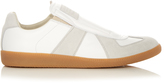 Maison Margiela Slip-on leather and suede trainers