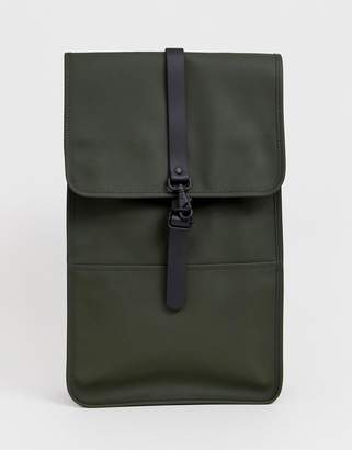 Rains 1220 waterproof backpack in green