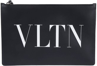 Valentino Logo Clutch