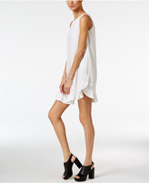 Love Moschino Cotton Ruffled Shift Dress
