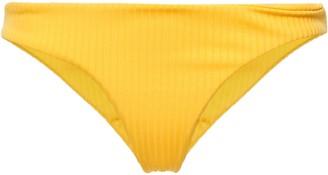 Mara Hoffman Stretch Ribbed-jersey Low-rise Bikini Briefs