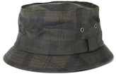 Barbour Fern Olive Green Wax Gutter Top Hat