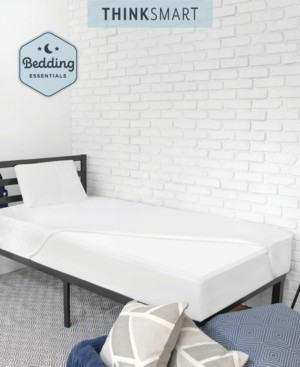 Sensorpedic Thinksmart by Bedding Essentials Bundle with Mattress Topper, Pillow and Mattress Protector Twin Xl