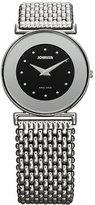 Jowissa Women's J3.008.M Elegance 30 mm Black Dial Stainless Steel Watch