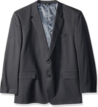 Haggar Men's Big and Tall B&T Stria Tic Stretch Classic Fit Suit Separate Coat