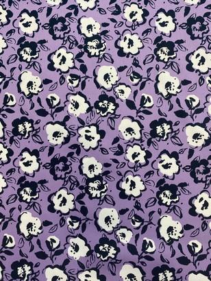 Marvic Fabrics Outline Flower Print Fabric
