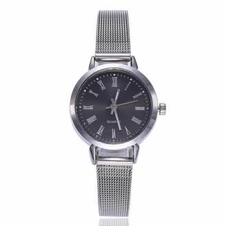 LMDGO Fashion Women Casual Watch Luxury Analog Quartz Wristwatch(Black)