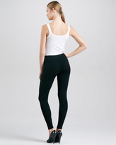 Donna Karan Pull-On Leggings, Black