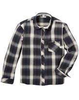 Fenchurch Check Flannel Shirt Long