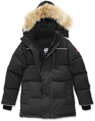 Canada Goose Youth Eakin Parka w/ Removable Fur Trim, XS-L