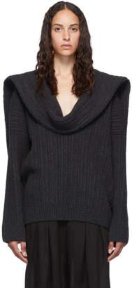 Jacquemus Grey La Maille Ahwa Sweater