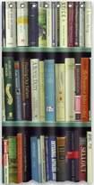 Bookshelf Shower Curtain Custom Unique Design Bookshelf Waterproof Fabric Shower Curtain, 72 by 36-Inch