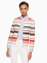 Kate Spade Berber stripe jacket