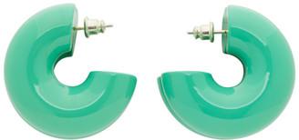 Uncommon Matters Green Bollow Earrings