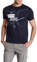 HUGO BOSS Short Sleeve Front Graphic Print Modern Fit Tee