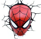 Marvel 3D LED Light Spiderman Mask