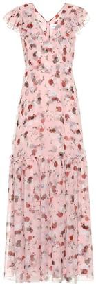 Erdem Exclusive to Mytheresa Franceline floral silk-voile gown
