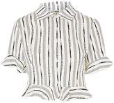 Love **Printed Cropped Shirt