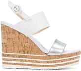 Hogan wedged sandals