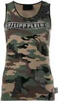 Philipp Plein logo tank top