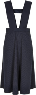 Nümph Sapphire Numargarete Pin Striped Dress - 7519808 - sapphire   Polyester and Viscose   38 - Sapphire