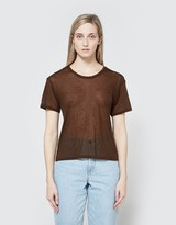 Base Range Emali Tee in Dark Brown