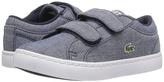 Lacoste Kids Straightset Lace 117 3 SP17 (Toddler/Little Kid)