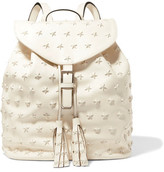 RED Valentino Embellished Leather Backpack
