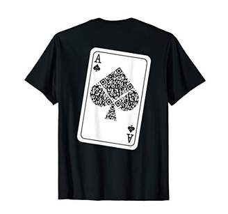 Ace of Spades - Rick Roll - Back Printed T-Shirt