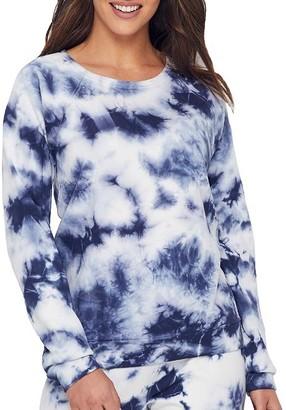 PJ Salvage Tie Dye Knit Sweatshirt