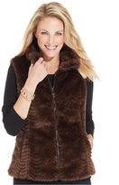 Charter Club Faux-Fur Vest