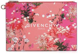 Givenchy Floral Print Pouch