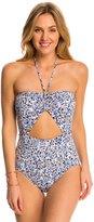 Michael Kors Swimwear Chiltington Bandeau One Piece Swimsuit 8142799