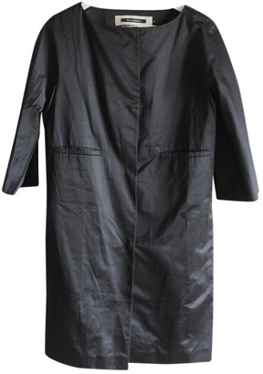 Tara Jarmon Black Cotton Coats