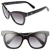 Kate Spade 'krissy' 52mm Cat Eye Sunglasses