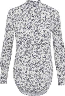 Belstaff Printed Cotton-poplin Shirt