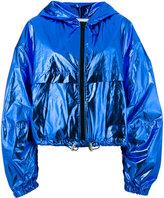 MSGM hooded jacket - women - Cotton/Polyurethane - 40