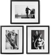 Sonic Editions Framed Get Carter Triptych Prints, 17 X 21 - Black