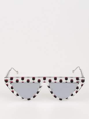 Fendi Eyewear Polka Dot Sunglasses